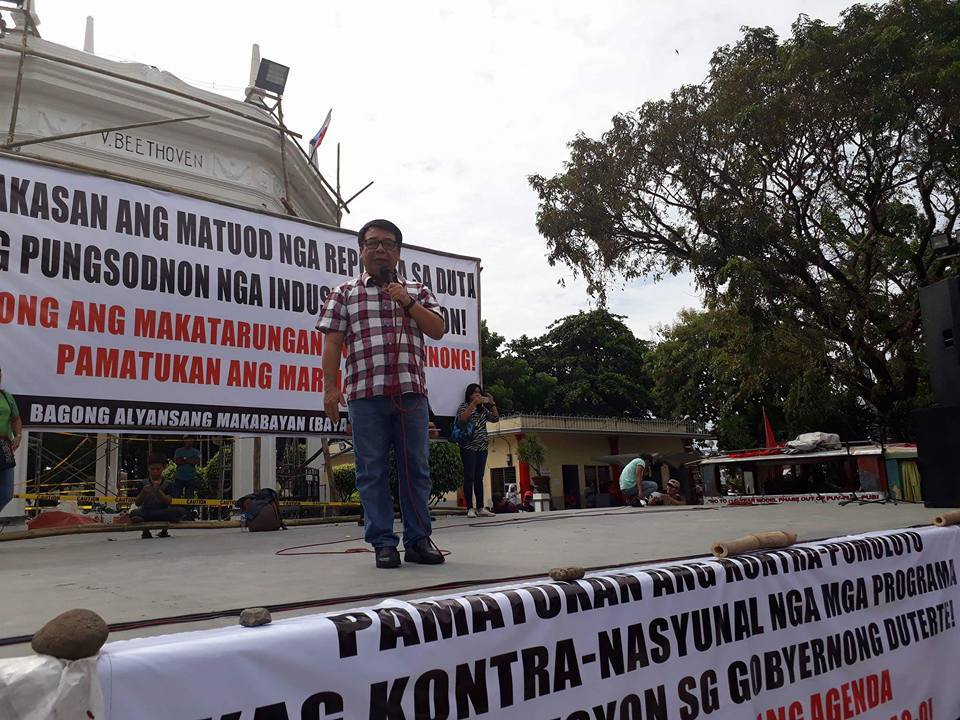 Militant Group Diocese Disappointed With Sona Colmenares Famine