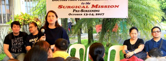 Over 500 undergo surgical mission pre-screening in Silay City