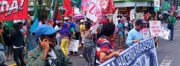 Transport Strike: PUV operators, sugar workers rally in Cebu