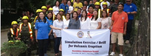 Mambukal Resort conducts volcanic eruption simulation