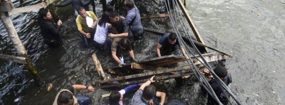 Benitez unhurt in Zamboanga City bridge collapse