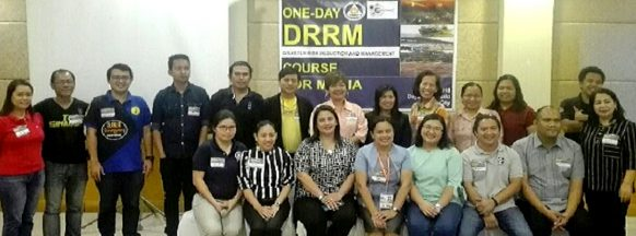DRRM training held for media personnel