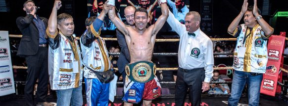 Filipino boxer wins IBO belt