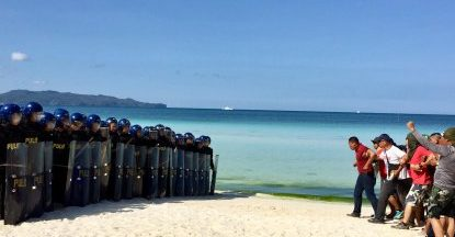 Security forces eye zero major incident during Boracay closure