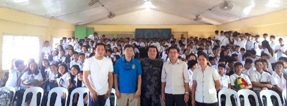 Anti-illegal drugs briefing held for Handumanan students