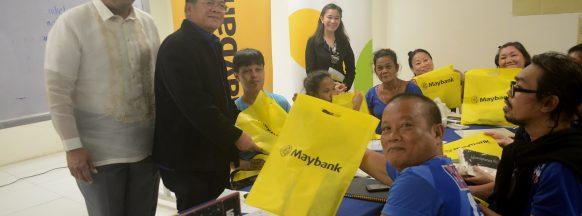 Maybank Foundation extends R.I.S.E. Program to Iloilo City's PWDs