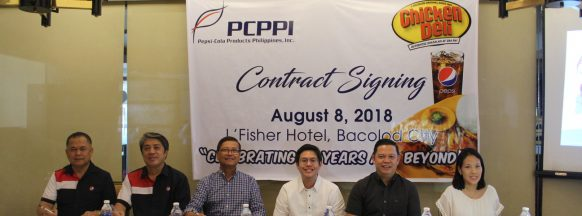 Chicken Deli growth spurs partnership renewal with Pepsi Philippines