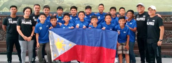 Philippines beats defending champions in Chinese football tournament