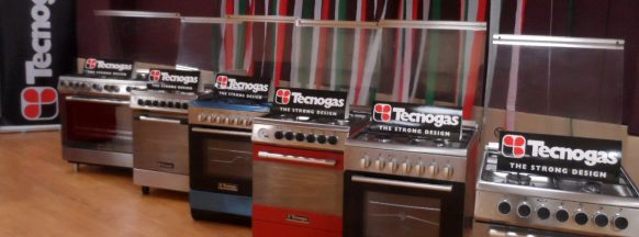Italian cooking expertise and technology with Tecnogas