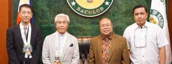 Japanese businessmen in Bacolod City to recruit workers