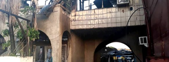 Bantug ancestral house gutted in early morning blaze