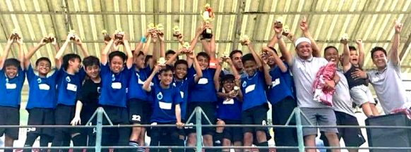 Filipino footballers win tournament in Malaysia