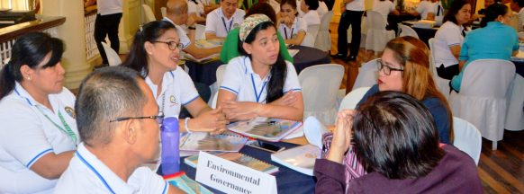 Provincial government undergoes evaluation by DILG