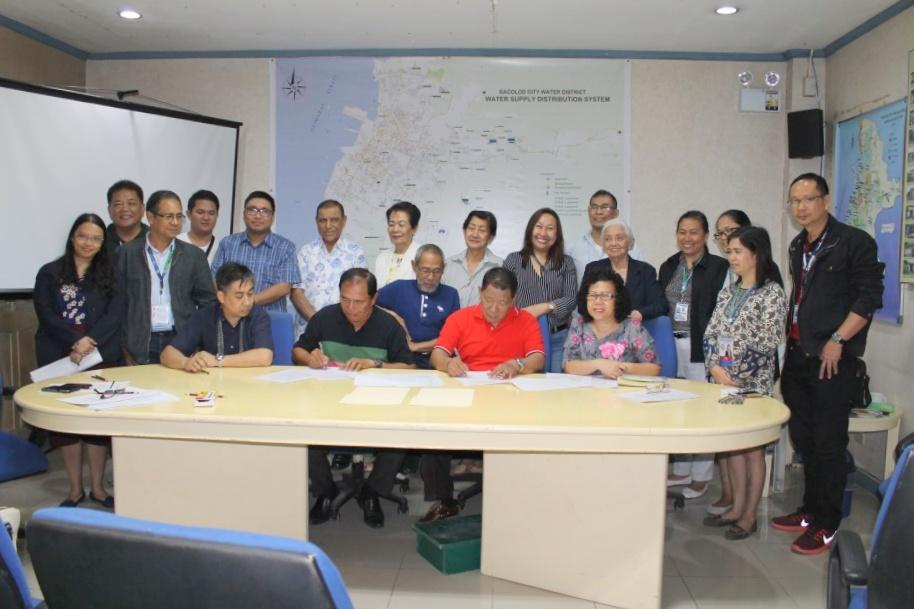 Agreement Signed Between Baciwa Murcia Water District Watchmen