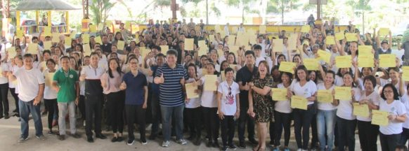 Over 200 graduate TESDA program in Silay City, Talisay City