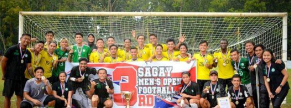 Ceres-La Salle FC captures Sagay City football championship