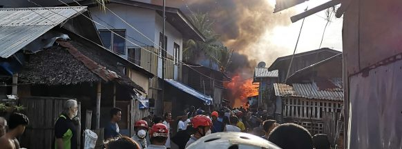 47 families affected by San Carlos City fire