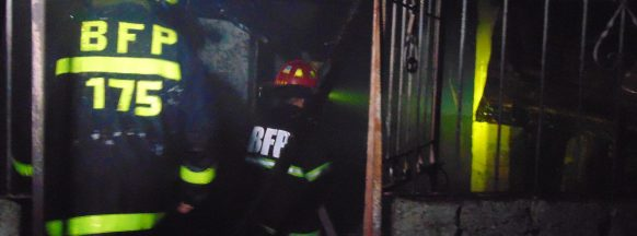 Fire guts Mansilingan  squatters' community
