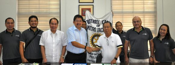 Human milk bank equipment turned over to Silay City hospital