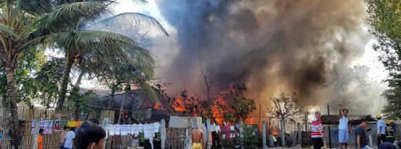 18 homes destroyed, damaged  in Bacolod City blaze