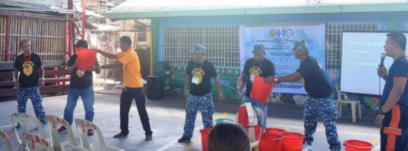 Bacolod City fire-preparedness training ongoing