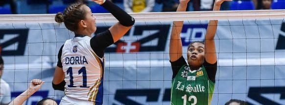 DLSU sweeps NU in UAAP women's volleyball