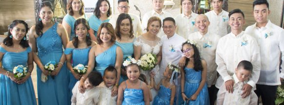Gregorio and Ajelyn become Mr. and Mrs. Alojado