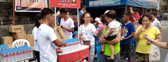 Hotel Sogo gives free bottled  waters this Holy Week 2019