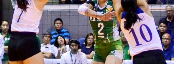 DLSU women's volleyball team sweeps AdMU