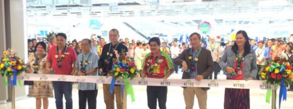 Metro Department Store  inaugurated in Bacolod City