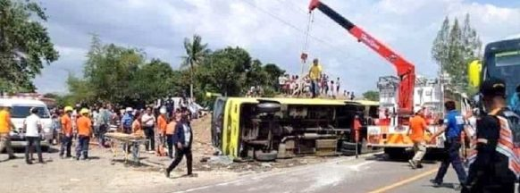 One killed, dozens injured after Ceres bus crashes in Bago City