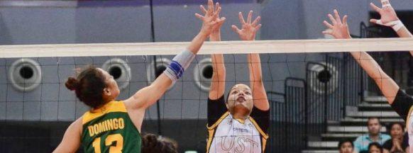 UST women's volleyball team beats FEU