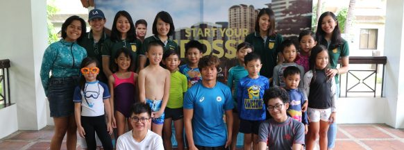 Paralympic swimmer inspires kids at Toyota  Start Your Impossible clinic to chase dreams