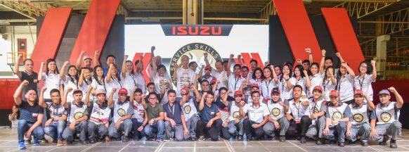 Isuzu Philippines holds 2019  Isuzu Service Skills Olympics