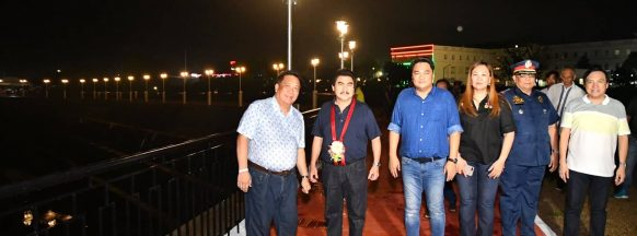 BCPO assigns cops to the Bacolod Esplanade