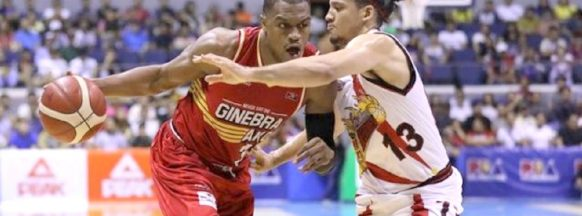 Ginebra outlast the Beermen in OT in the Commissioner's Cup