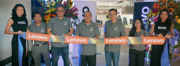 Lenovo opens first exclusive  service center in the Philippines