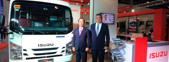 Isuzu unveils 'PUV-X' program at the  2019 Philippines Bus & Trucks Expo