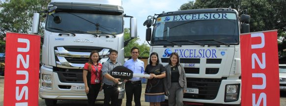 Excelsior continues to re-fleet  with brand-new Isuzu trucks