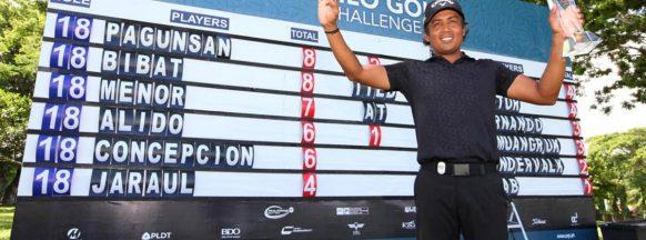 Murcia golfer wins  Iloilo City tournament