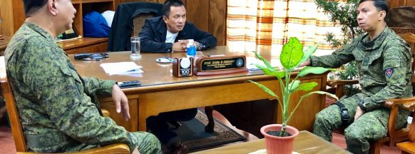 Negros Oriental governor unveils  task force to combat insurgency