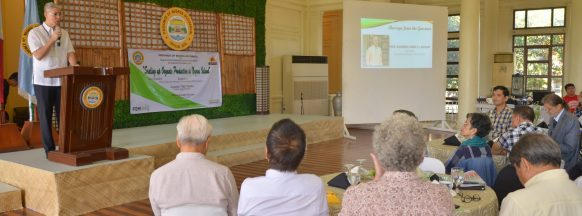 Organic farming symposium held in Bacolod City