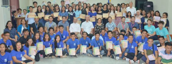 Over 100 NOLITC graduates  recognized in Bacolod City