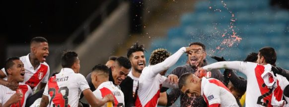 Peru upsets Chile and will face  Brazil in Copa América final