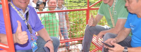 Silay City cable car project turned  over to local farmers' organization