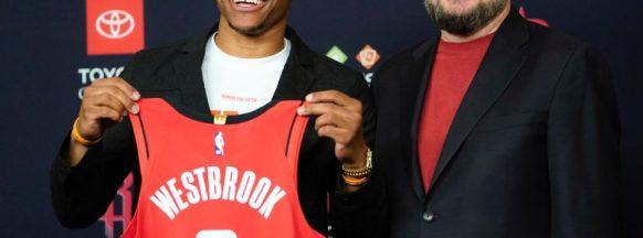 Westbrook focused on  title run with Houston