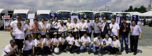 Isuzu turns over 24 units of class 2 modern  PUVs to Alabang Transport Service Cooperative