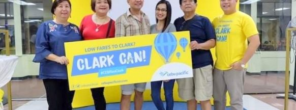 Cebu Pacific links the Western  Visayas and northern Luzon