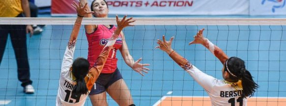 Creamline remains undefeated in the Open Conference