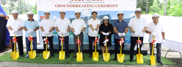 Isuzu breaks ground in Tagum, Davao Del Norte